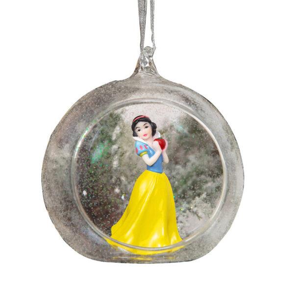 Bola de Navidad Blancanieves Princesa en 3D Disney